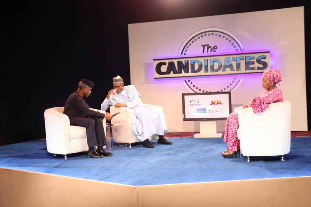 How not to ask blundering Buhari questions on live TV