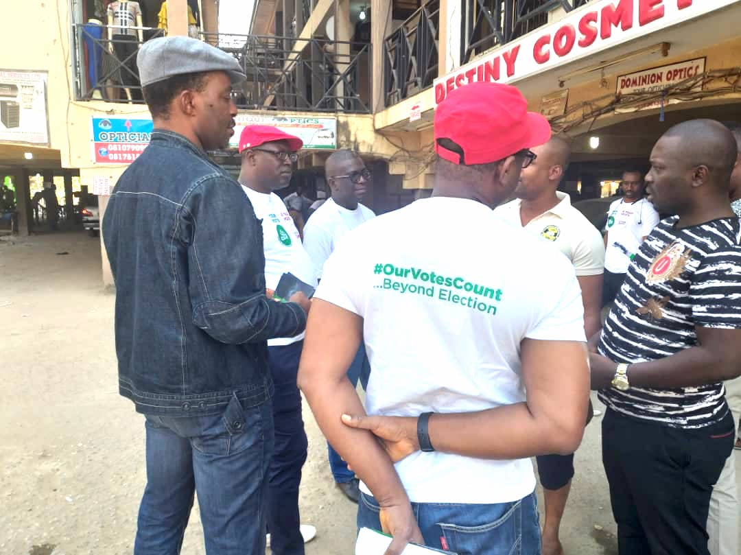 Our Votes Count: NAS mobilises  Abuja residents to vote