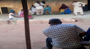 Stage drama performance by Hausa Artistes at Gidan Drama, Kaduna.