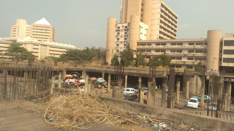 PHOTOS: After 36 years of neglect, FG building in Abuja remains an eyesore