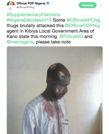 Screenshot PDP tweet dry-wound pictures