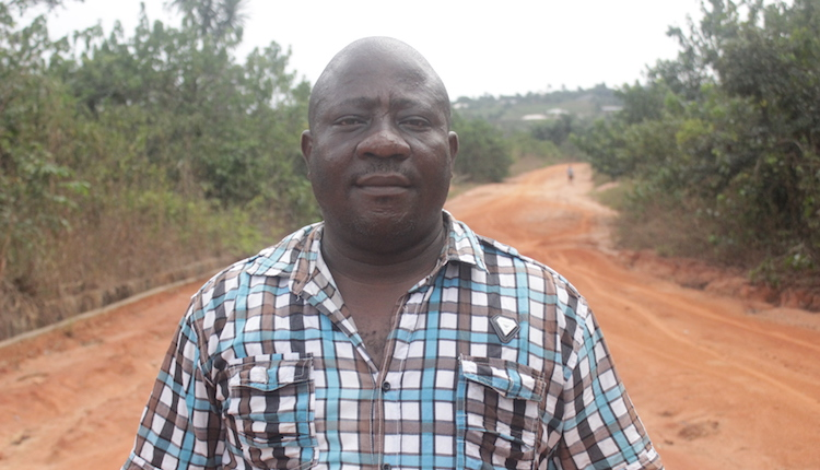 Moses Onyegbule, the site manager of the company said they would soon return to work. Photo by Patrick Egwu
