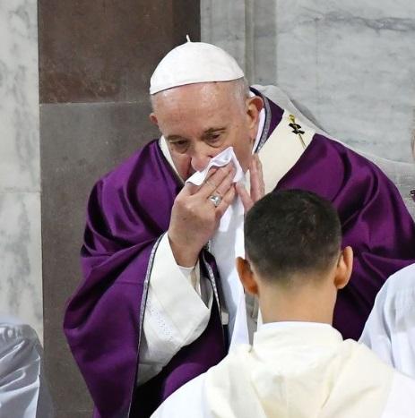 Pope Francis 'tests negative' to coronavirus
