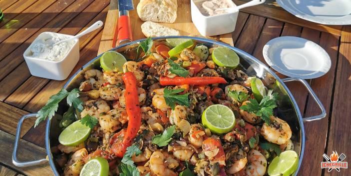 Shrimps vom Grill Rezept