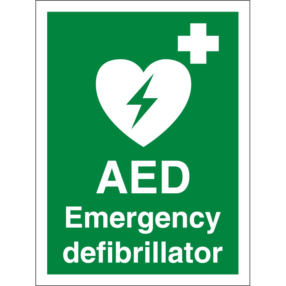 aed-emergency-defibrillator-signs