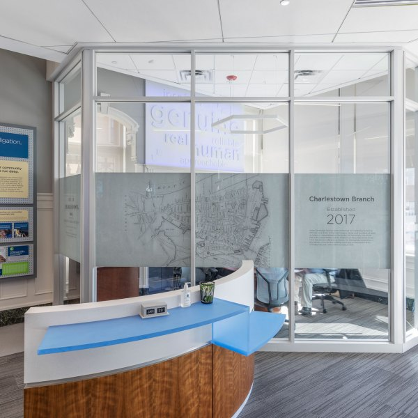 Interactive Graphics Display, 3D Letters & Customized Privacy Glass