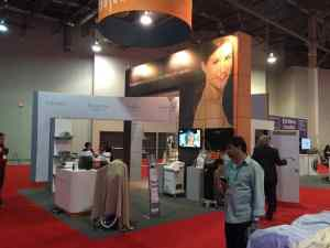 Exhibit by BlueHIve, Exhibit Graphics by ICL Imaging. Blog Trade Show Graphics