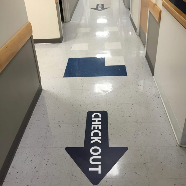 Floor Graphics by ICL Imaging