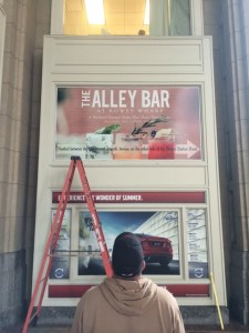 Installing Window Graphics by ICL Imaging - Window Clings Window Graphics