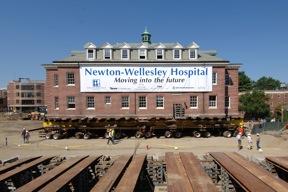Newton - Wellesley Hospital Moving Banner