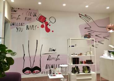 Miniluxe custom wall coverings by ICL Imaging