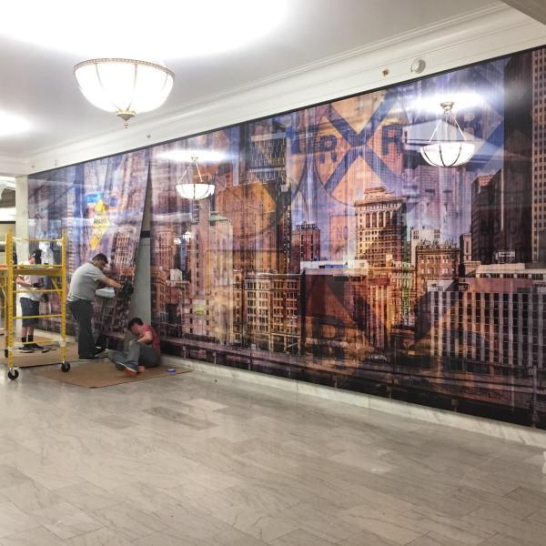 Photo Mural Panels for Boston Art
