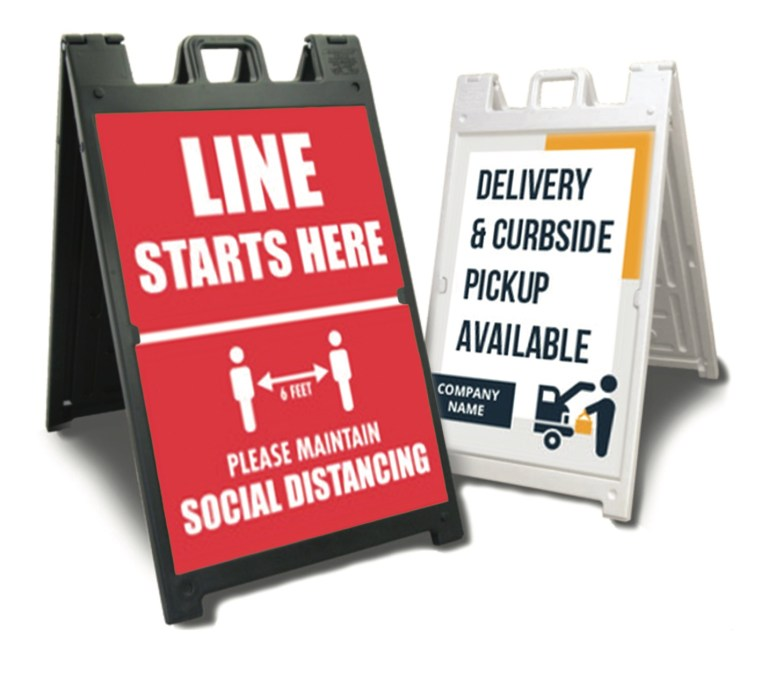 Plasticade Signicade® Deluxe, A-Frame Signs