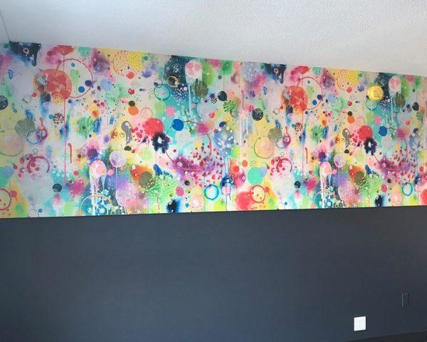 Wall covering studio allston hotel