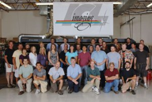Employees of ICL Imaging, Large Format Printers, Framingham, MA, near Boston