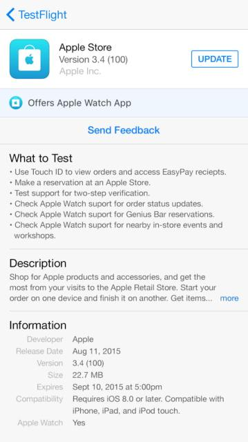 Apple Updates Testflight App With Support For Tvos Apps Redemption Codes