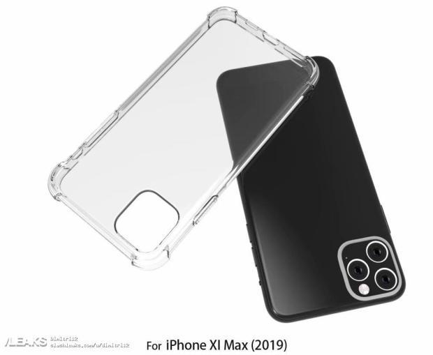 iPhone XI Max Case Renders Match Rumored Design [Images]