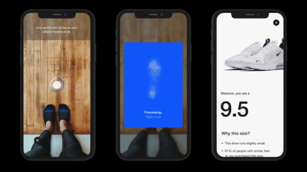 Nike Fit Uses iPhone and AR to Find Your Perfect Shoe Size