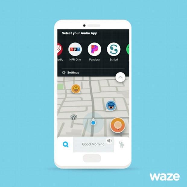 Waze Navigation App Gets Pandora Integration