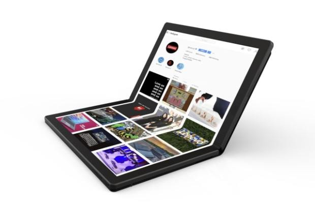 Lenovo Unveils 'World's First Foldable PC' [Video]