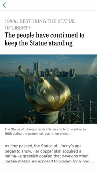 Tim Cook Highlights New 'Statue of Liberty' AR App