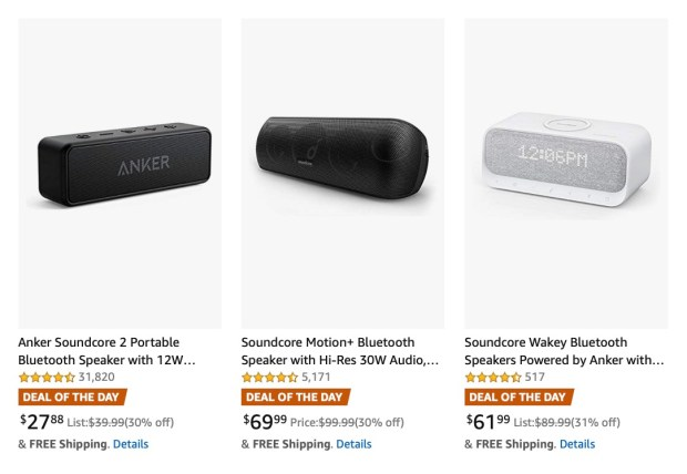 Anker Bluetooth Speakers On Sale for 30% Off [Deal of the Day]
