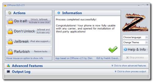 ziphone pour iphone 4 gratuit