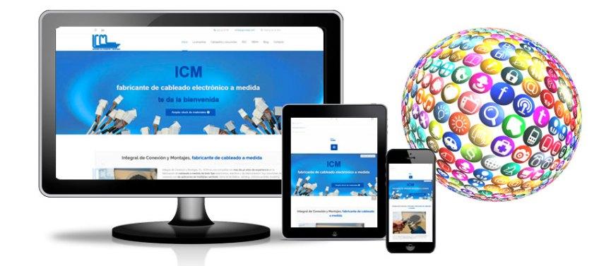 lanzamiento de nueva web de ICM