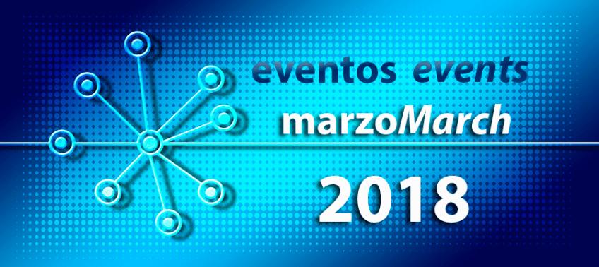 Eventos marzo 2018, de sectores de aplicación del cableado de ICM
