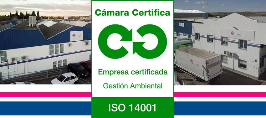 Renovación de ISO 14001 en ICM