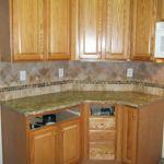 Kitchen Backsplash Ideas With Santa Cecilia Granite Icmt Set Beautiful Kitchen Backsplash Ideas