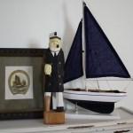 Vintage Nautical Decor Icmt Set Nautical Decorations For