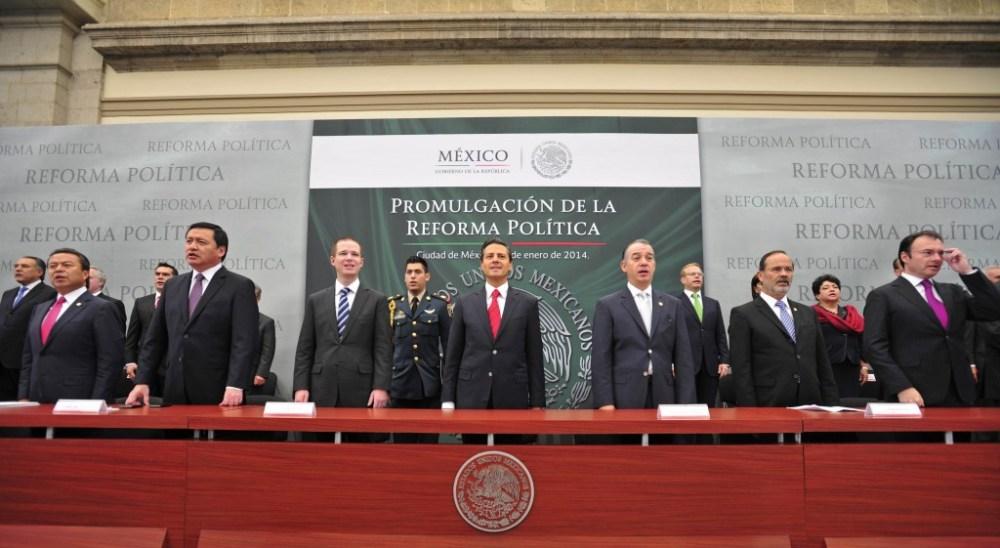 México promulga la Reforma Política-Electoral | ICNDiario