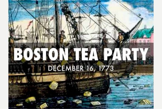 The Boston Tea Party That Carved American History On December 16,1773