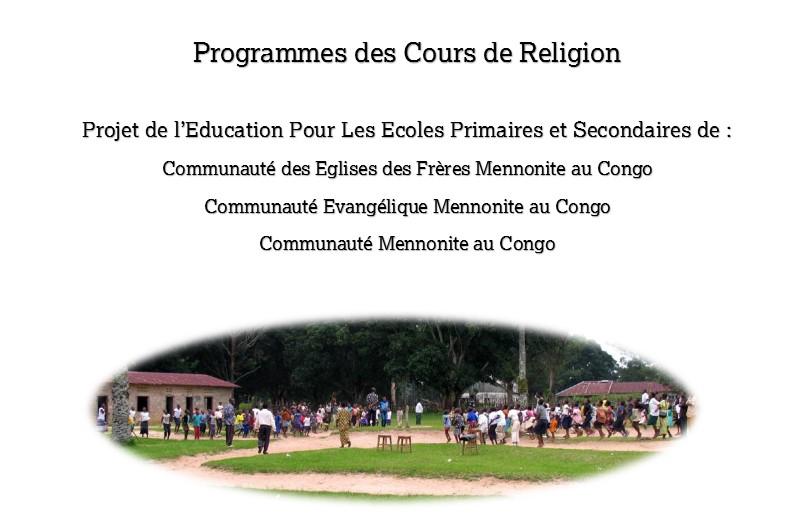 THE CONGO CURRICULUM IS WRITTEN!!!