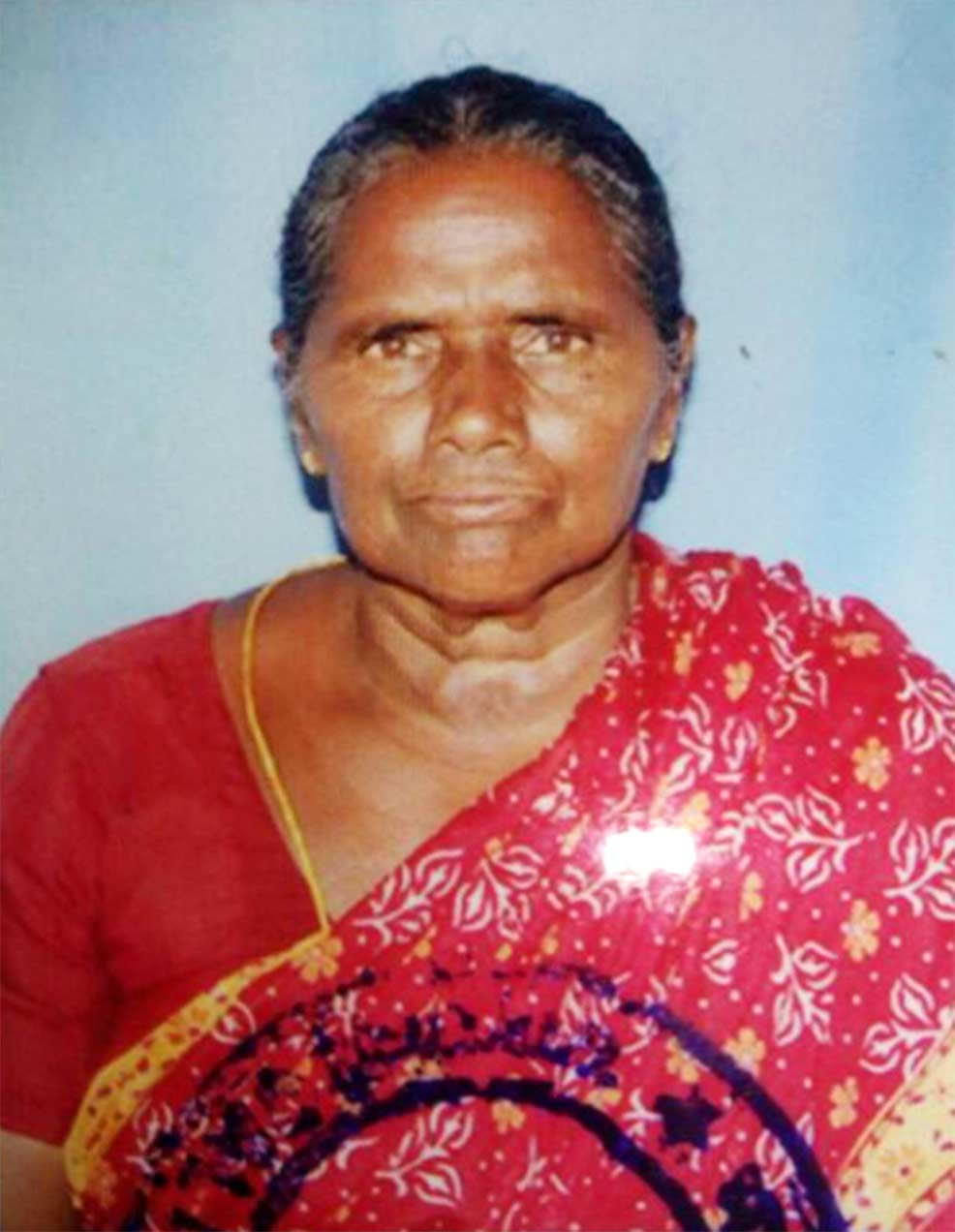 Subbaravamma's family is mourning her passing.