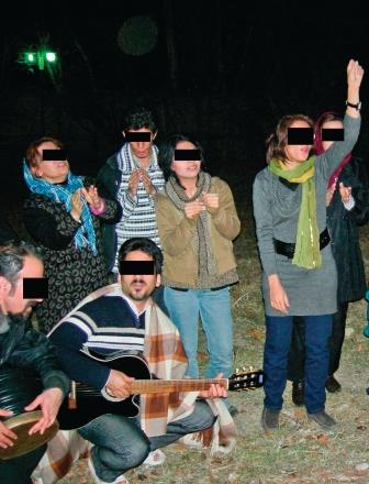 A group of Iranian Christians meet to evangelize despite the risks.
