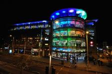 Cornerhouse at night