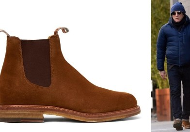 affordable alternatives R.M. Williams Gilchrist Tobacco Suede Chelsea Boots