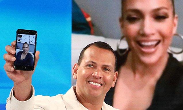 Alex Rodriguez Talks About MEETING Jennifer Lopez image