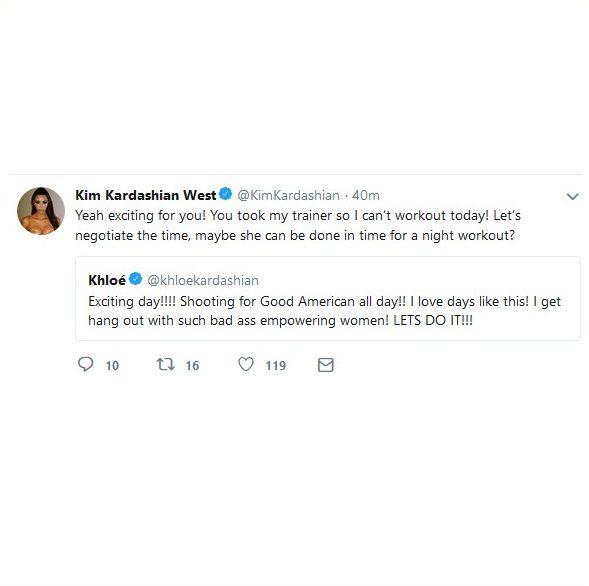 KIM Kardashian Slams Khloe For Stealing Her Personal Trainer! image