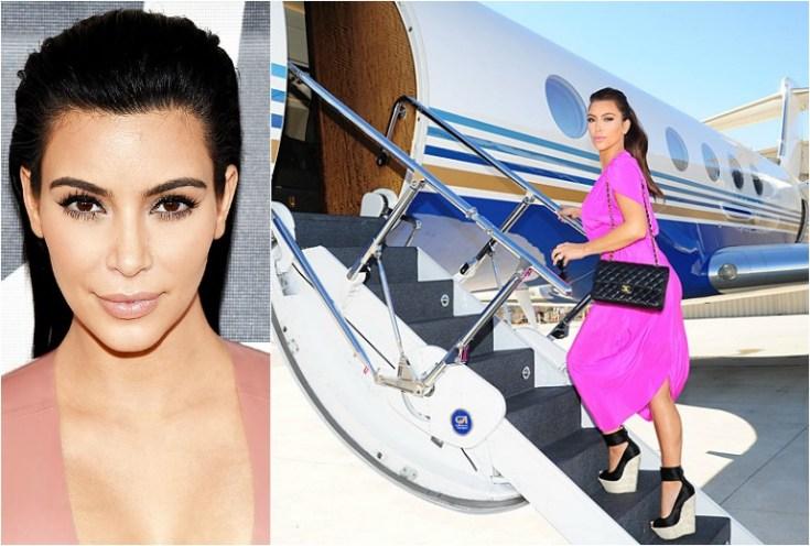 Kim Kardashian Hasn't Paid Her Private JET Bill! image