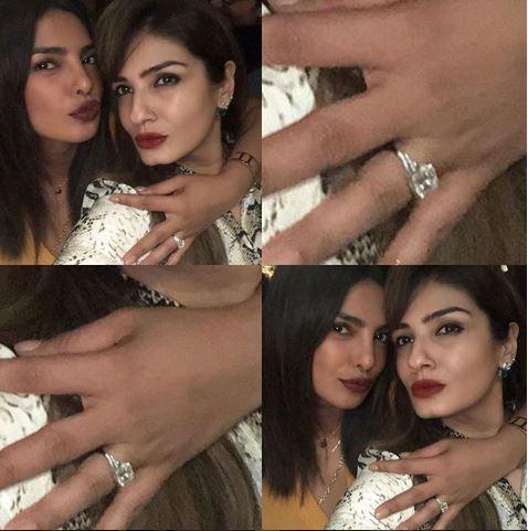 Priyanka Chopra Shows Off Engagement Ring She Got From NICK JONAS! image