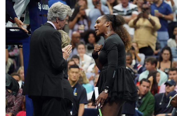 Serena Williams Calls Out Umpire Carlos Ramos! image