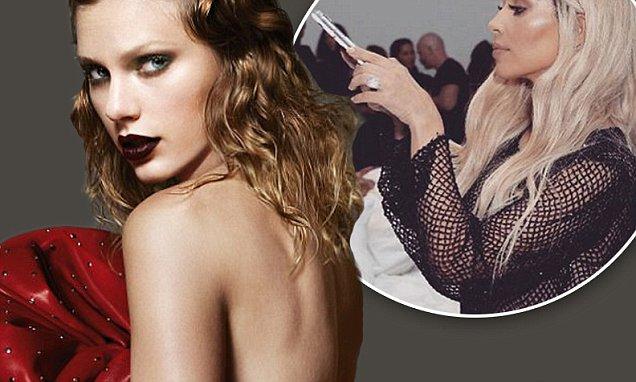 Kim Kardashian Posts a NUDE Photo of Taylor Swift on Instagram! image