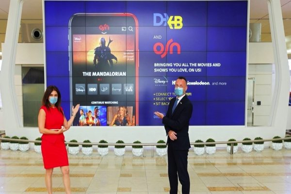 Dubai Airports with OSN to offer OSN's Service to travellers