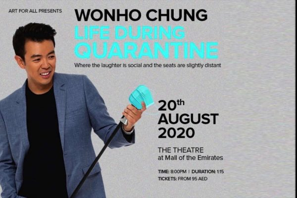 Post-quarantine quips: Wonho Chung to perform latest comedy