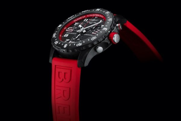 A PODIUM FINISH FOR MARC HIRSCHI –WITH HIS RED BREITLING