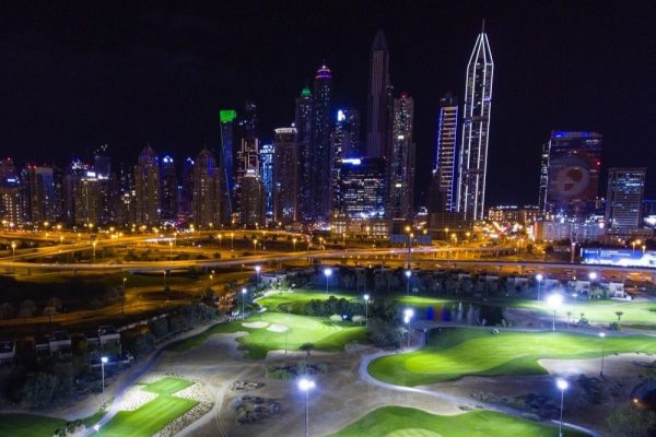 THE OMEGA DUBAI MOONLIGHT CLASSIC AND PETER FINCH