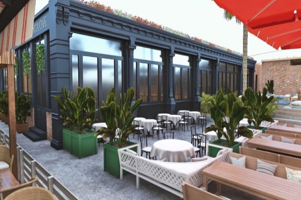 SOHO BEER GARDEN OPENS AT SOHO GARDEN